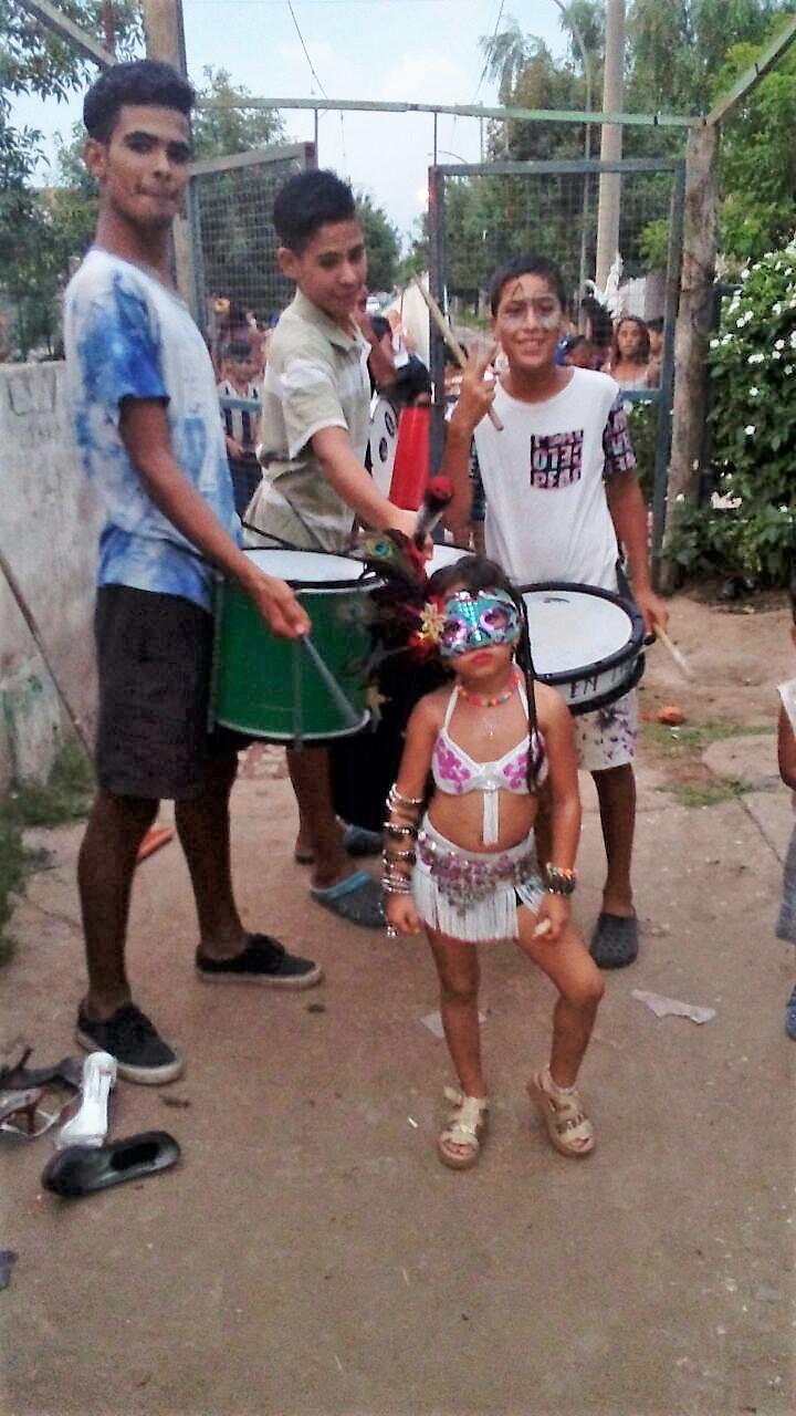 carnevale nel quartiere Ampliacion Cabildo