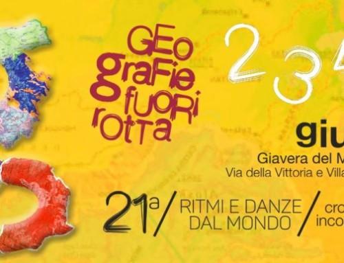 """""""Ritmi e danze dal mondo"""" a Giavera  Festival 2016: Geo-grafie fuori rotta"""